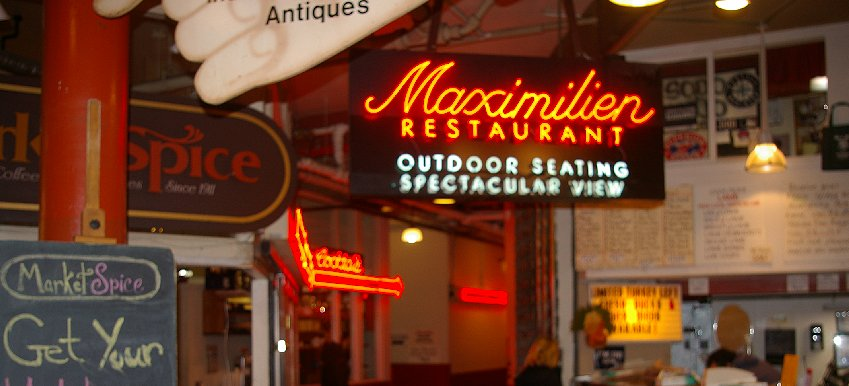 Maximilien Restaurant at Pike Place in Seattle - image.