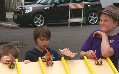 Fast Food Racing from Rhubarb Days in Sumner, Washington.
