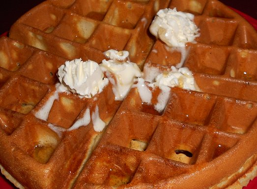 The Belgium waffle at the Red Elm Cafe in Tacoma - image.