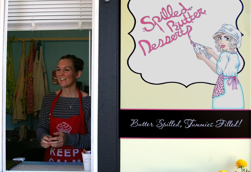Brianne Day the baker and owner of Spilled Butter Desserts Tacoma - image.