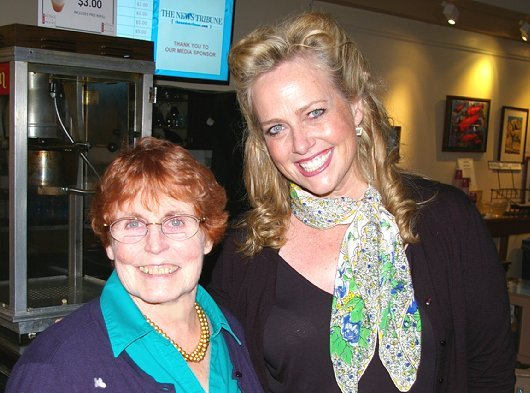 Peggy Doman and Nancy Hebert at Tacoma Little Theatre - image.