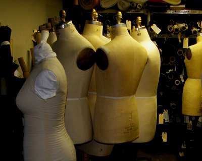 Dress forms at Seattle Opera in the costume department.
