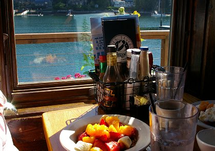 A view from inside The Tides Tavern in Gig Harbor, Washington - image.