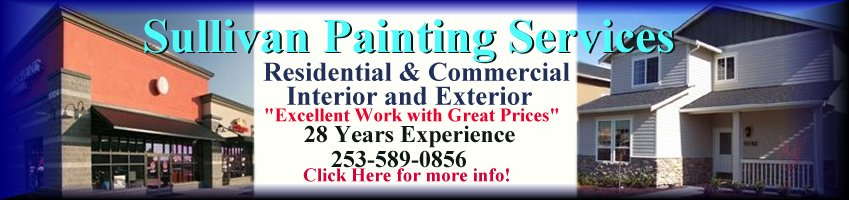 Commercial and Residential Painting Contractor in Tacoma and Pierce County
