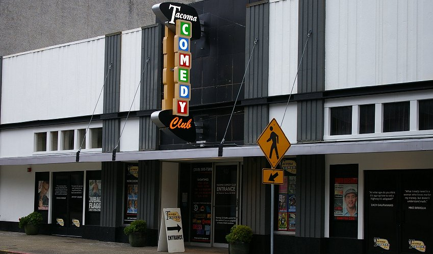 Tacoma Comedy Club in downtown Tacoma - image.