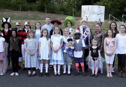 Dorothy in Wonderland production in Gig Harbor, Washington - mage.