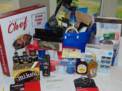 A raffle prize at the Tacoma Executives Association Golf Tournament in Lakewood, Washington - image.