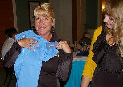 Michelle Roberts and Jordan Ford of Tacoma Executives Association.