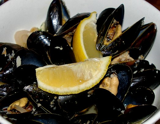 Steamed mussels at the Top of Tacoma in Tacoma - image.