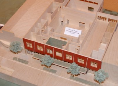 New construction model of Taproot Theatre