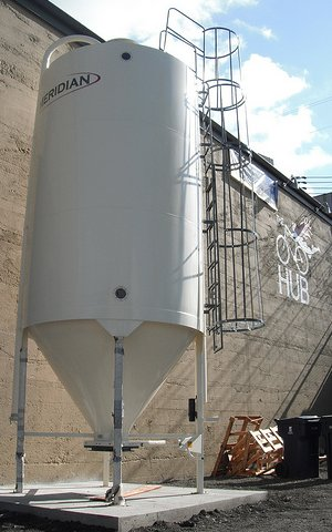 The Harmon Tap Room Brewery Tank - photo.