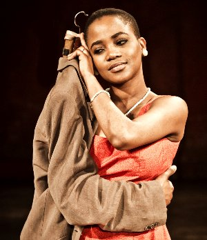 Nonhlanhla Kheswa in Peter Brook's The Suit. Photo: Pascal Victor, ArtcomArt.