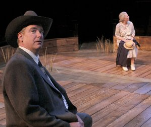 The Trip to Bountiful by Horton Foote at ACT - A Contemporary Theatre. Photo: Chris Bennion.