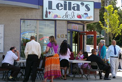 Leila's Deli by the Tacoma Dome.