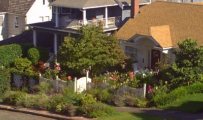 The neighborhood view from The Villas Bed and Breakfast Tacoma, Washington - Photo.