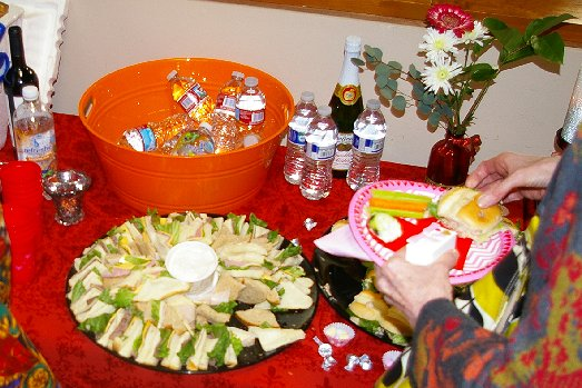 Party platters from The Chili Parlor at Ted Brown Music in Tacoma - image.