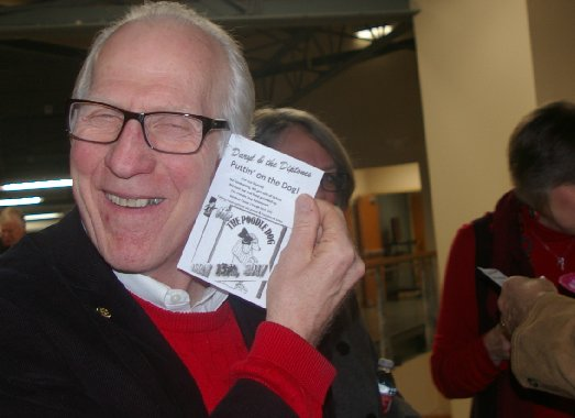 Ron Lunceford promoting his concert at Ted Brown Music in Tacoma - image.