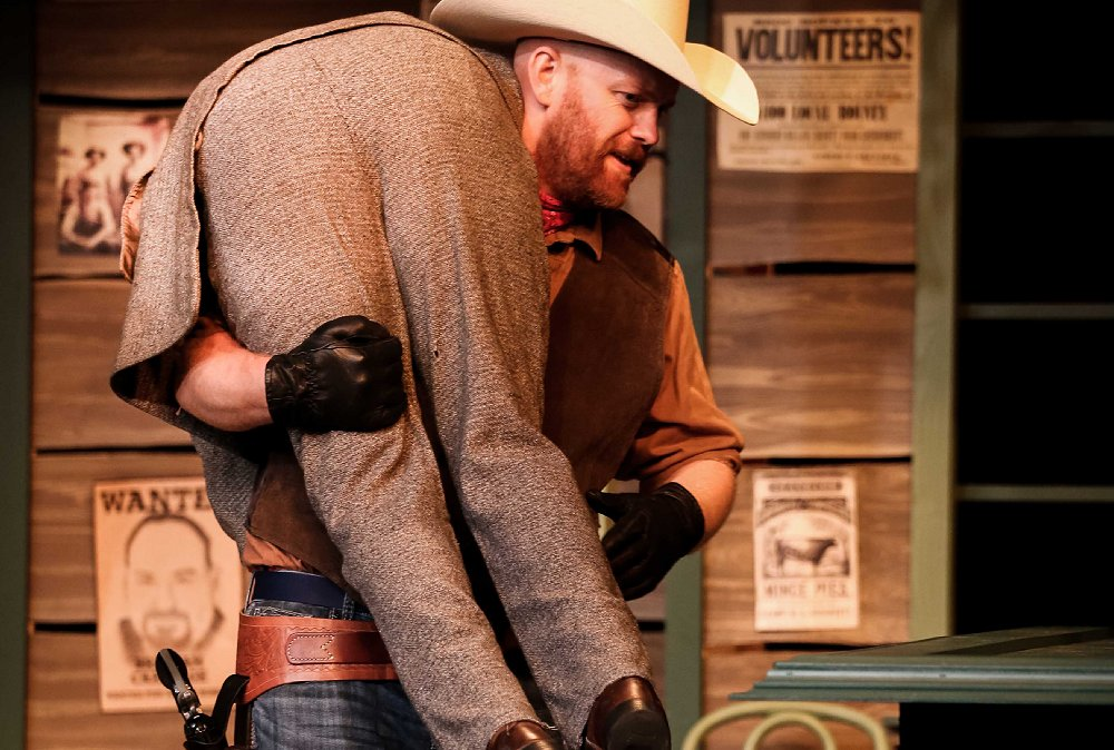 Barricune (Chris James) in The Man Who Shot Liberty Valance - Photo by DK Photography - Tacoma Little Theatre - image.