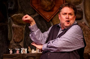 Vanya (Martin Larson) - Photo by DK Photography - Vanya and Sonia and Masha and Spike - Tacoma Little Theatre - image.