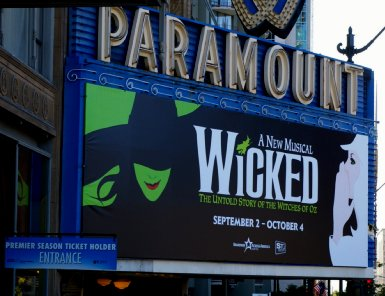 Wicked Muscical at the Paramount Theater in Seattle