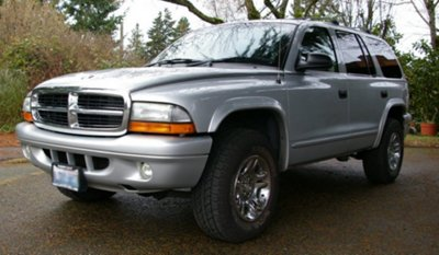 Our 2002 Dodge Durango.